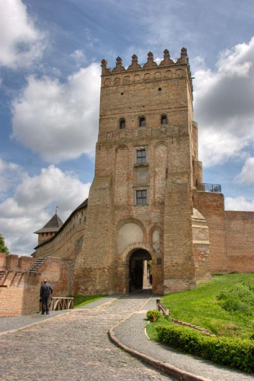 Lubart's castle, the symbol of the city