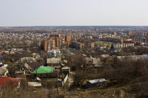 Вид с Ивановой горы