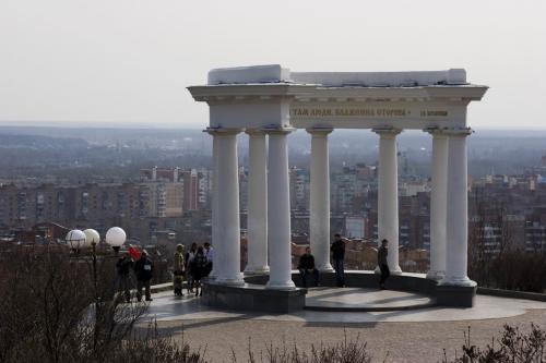 Ротонда Дружбы Народов - символ города