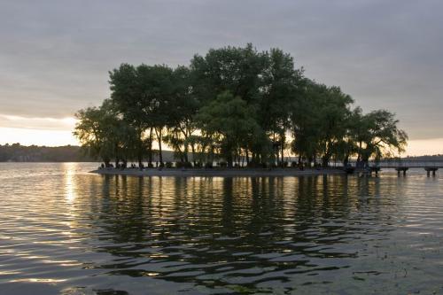 Остров Влюбленных на Тернопольском пруду