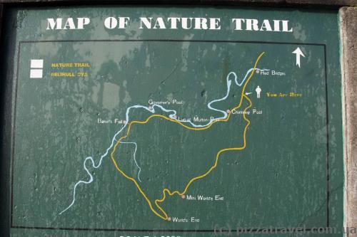 Карта плато Хортон