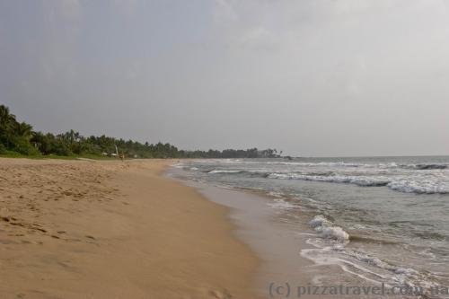Пляж в Бентоте