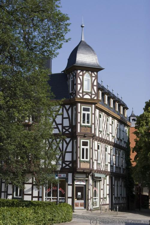 Фахверковые дома в Вернигероде