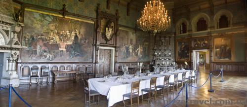 Интерьеры замка Вернигероде