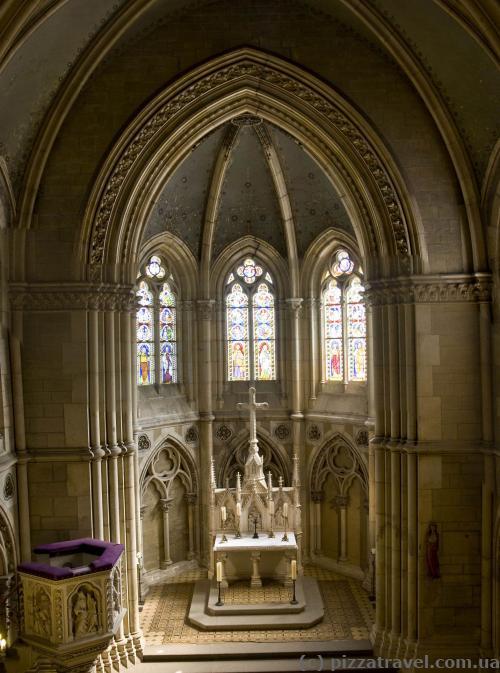 Собор внутри замка Вернигероде