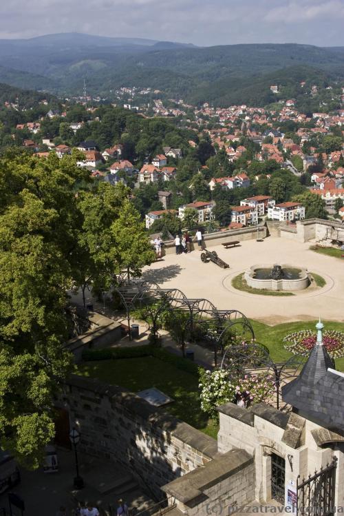 Смотровая площадка возле замка Вернигероде