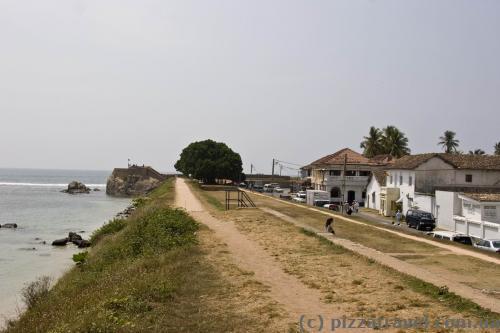 Стены форта Галле