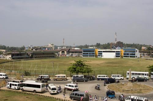 Стадион для крикета и улица Галле