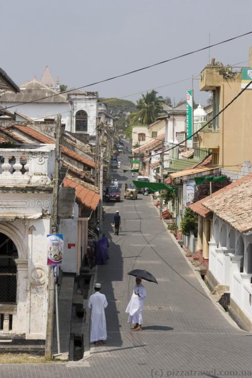 Улицы внутри форта Галле