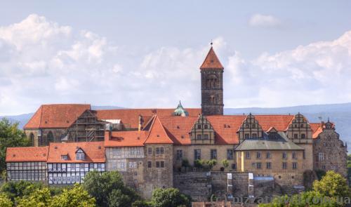 Замок в Кведлинбурге