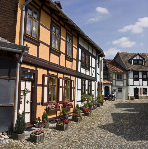 Старая часть города - Мюнценберг