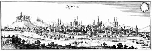 Кведлинбург в 17 веке