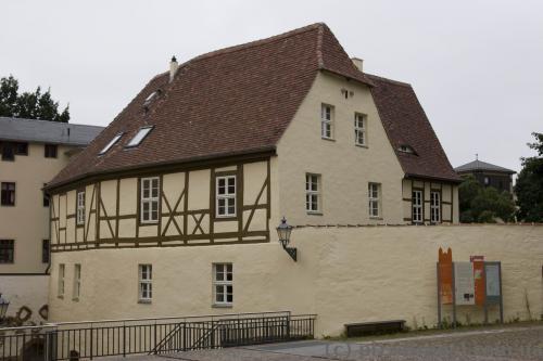 Наверное, единственный фахверковый дом в старом городе