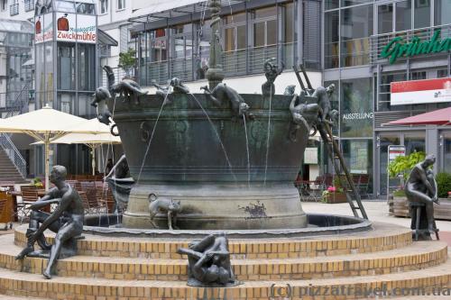 Фонтан на Leiterstrasse