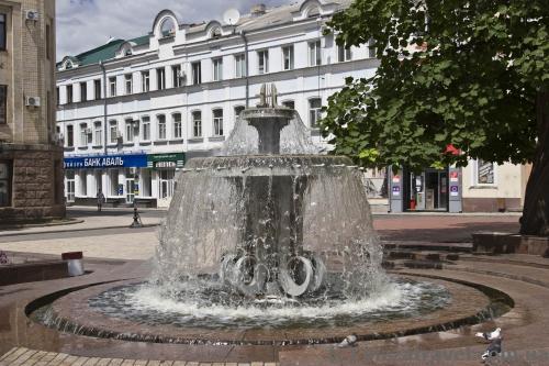 Фонтан на площади Кирова