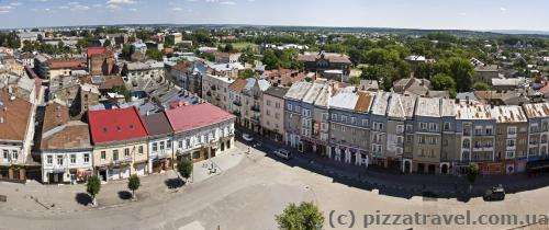 Вид на площадь Рынок с ратуши