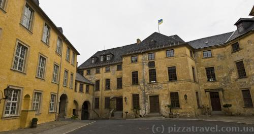 Courtyard of the Blankenburg Castle