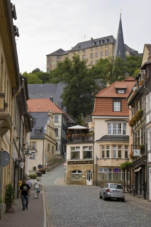 Old town and the Blankenburg Castle