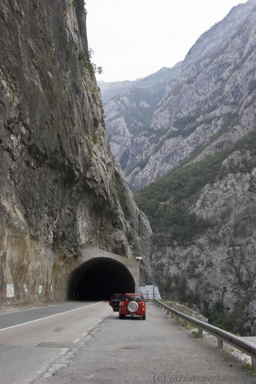 Место остановки туристических автобусов