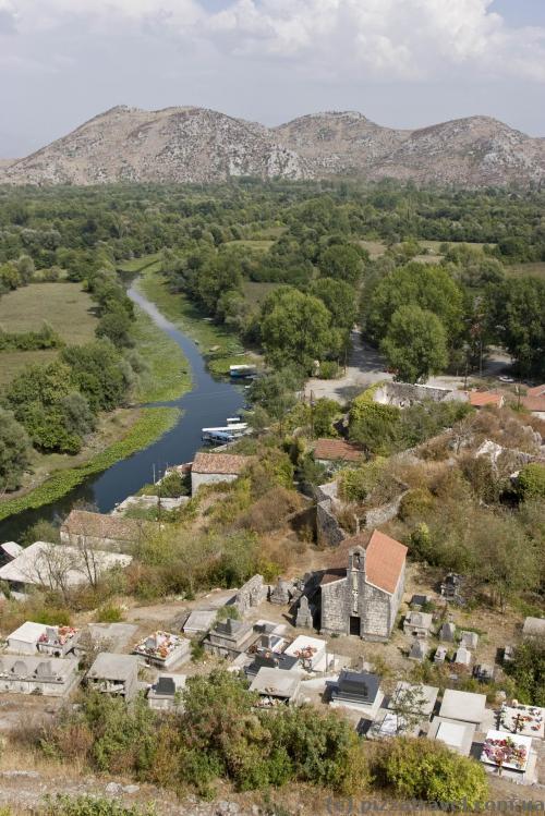 Вид в сторону границы с Албанией