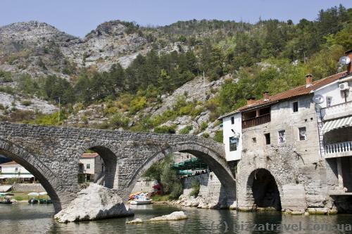 Bridge in the Rijeka Crnojevica village