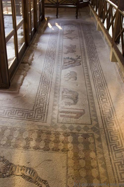Древние мозаики в археологическом парке Пафоса