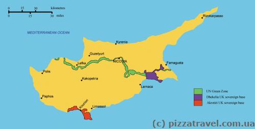 Военные базы на Кипре