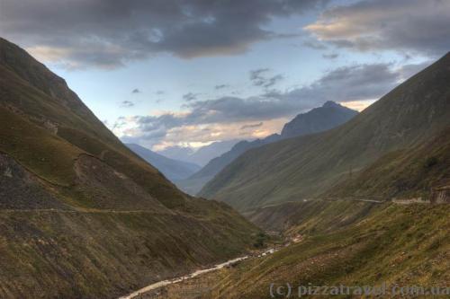 Пейзажи на военно-грузинской дороге