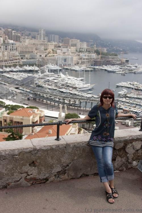 Фотография, которую делают все при посещении Монако.