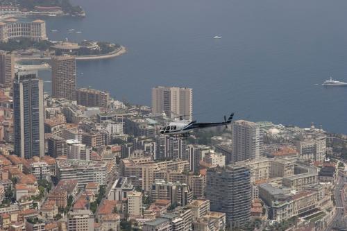 Вид на Монако со смотровой площадки