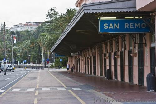 Бывший железнодорожный вокзал в Сан-Ремо