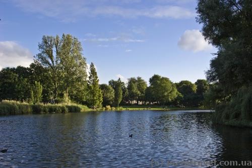 Парк Oosterpark в Амстердаме