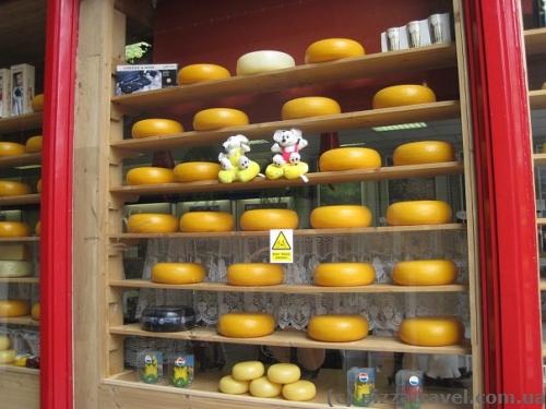 Сырный рай в Амстердаме