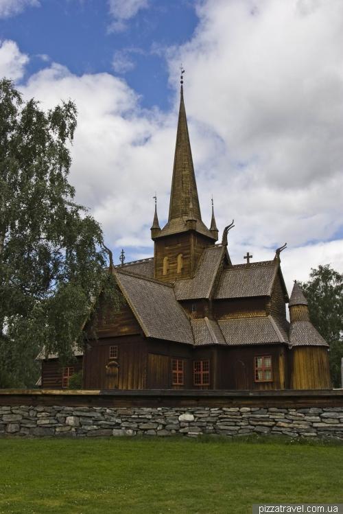 Деревянная церковь в Луме