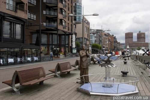 Городской район Акер-Брюгге в Осло