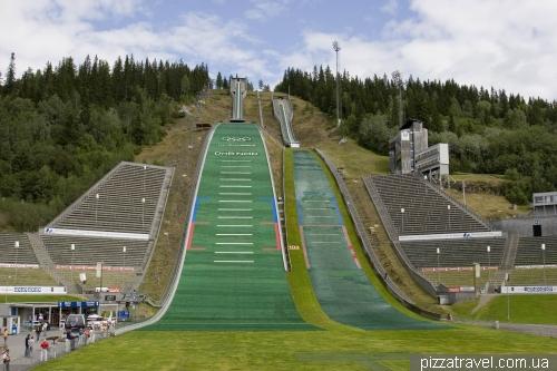 Олимпийские трамплины в Лиллехаммере