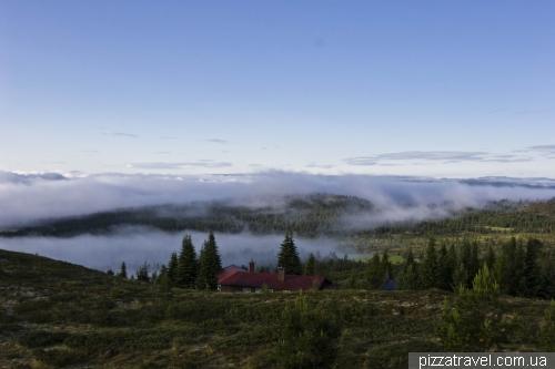 Красивые пейзажи возле отеля Storefjell Resort
