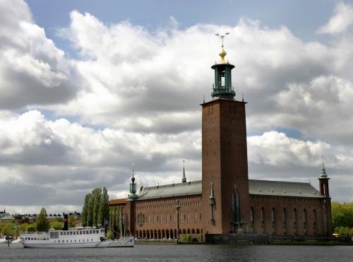 Городская Ратуша в Стокгольме