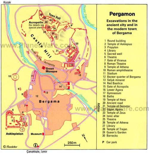 Карта Пергамона
