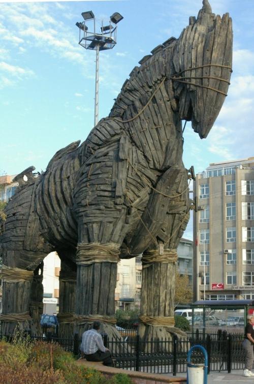 Троянский конь в Чанаккале