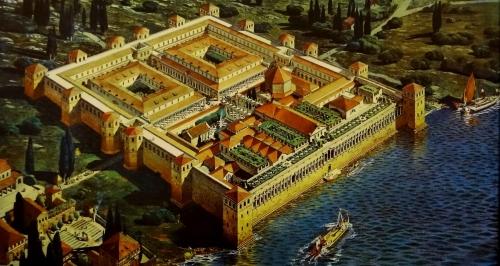 Реконструкция дворца Диоклетиана