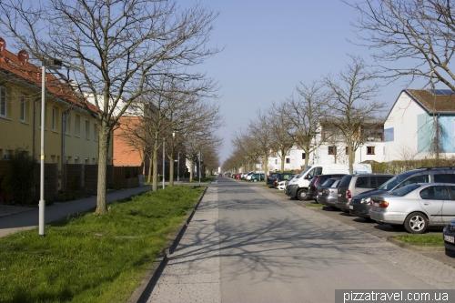 Район Кронсберг в Ганновере