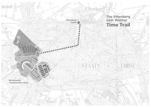 Тропа времени соединяющая Бухенвальд и замок Эттерсбург