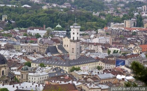 Вид на старый город с Высокого замка