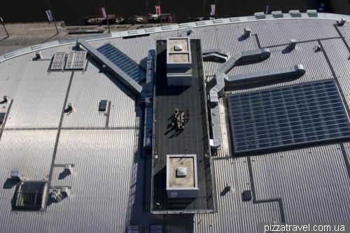 Крыша климатического центра