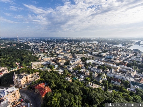 View of the Podil