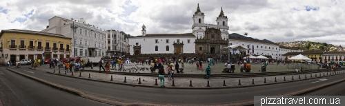 Площадь Сан-Франциско в Кито