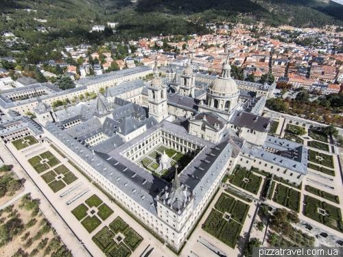 Монастырь и замок Эль Эскориал