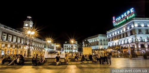 Площадь Puerta del Sol