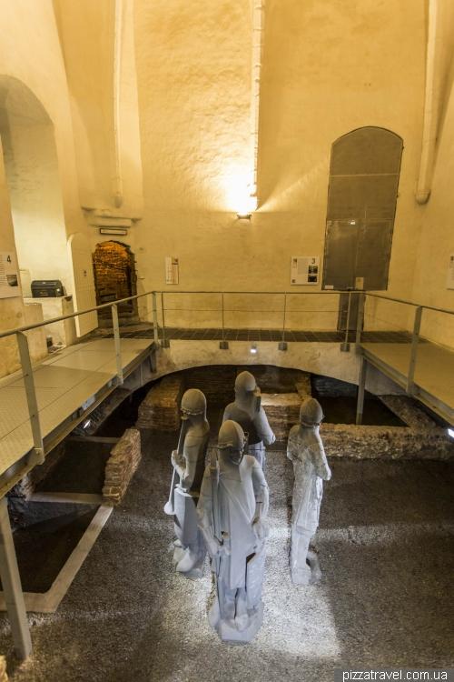 Secret room in the Belfry